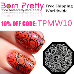 Born Pretty Store 10% discount code - TPMW10